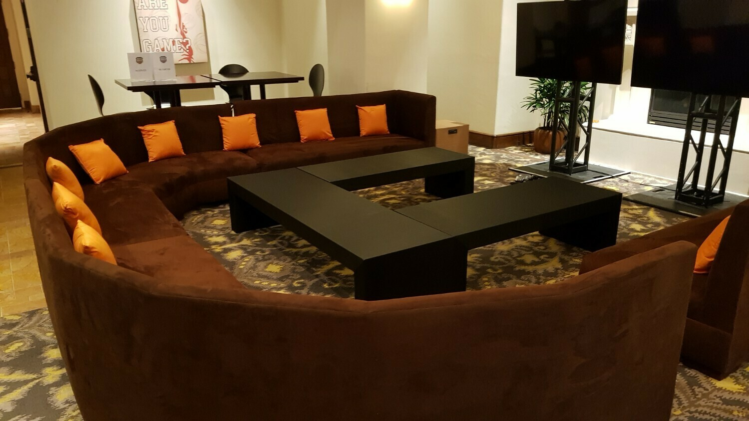 Sports Viewing Rental Package-Seating for 16