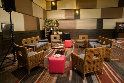 Rattan Party Rental Package-Seating for 12