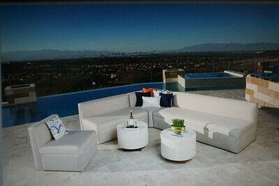 Poolside Rental Package-Seating for 10