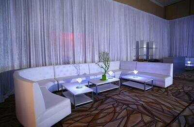 White Party Rental Package-Seating for 23