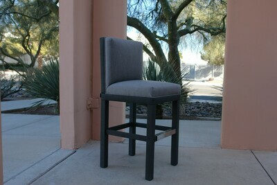 Barstool With Back-Sample