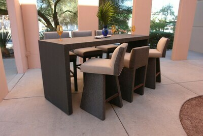 Poolside High Top Height Table Set-Samples