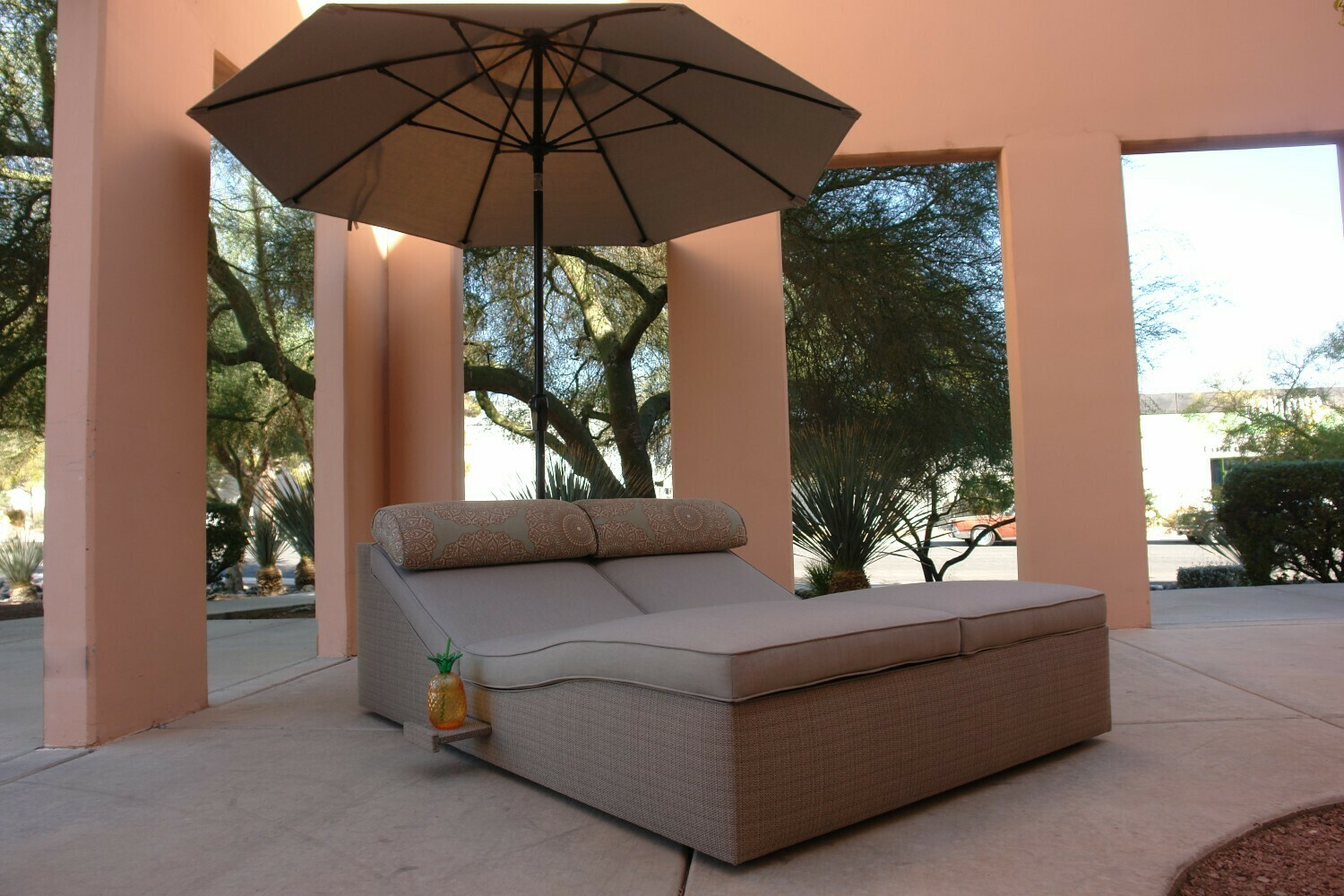 Cool Calm Composed Double Adjustable Lounger-Sample