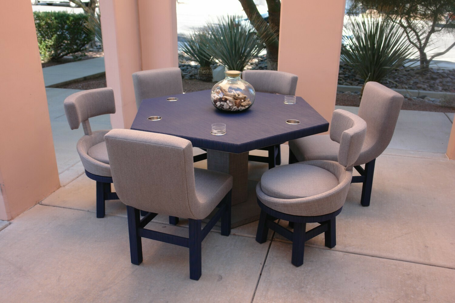 HGTV Property Brothers Collection Game Table and Chairs Set-Samples