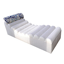 Adjustable Ribbed Lounger