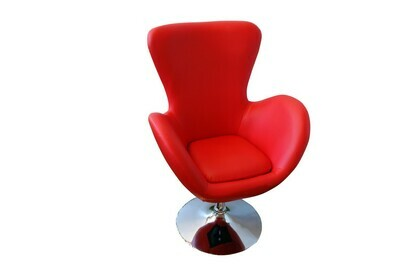 Red Wrap Chair