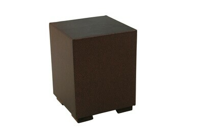 Iridescent Rust Accent Table