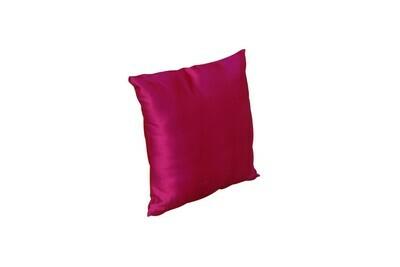 Pillow-Fuchsia Satin