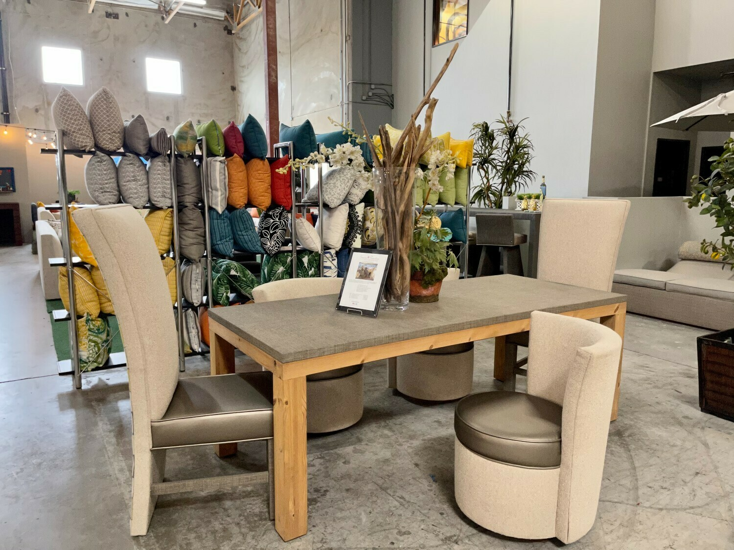 Cool Calm Composed Dining Set-Samples