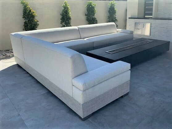 10 x 7 Sectional With Soft Arms