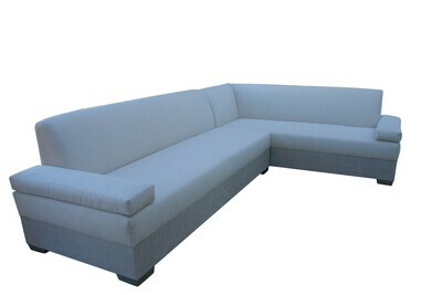 10' x 7' Sectional With Soft Arms