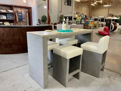 Resort Style Bar Table Barstool Set-Samples