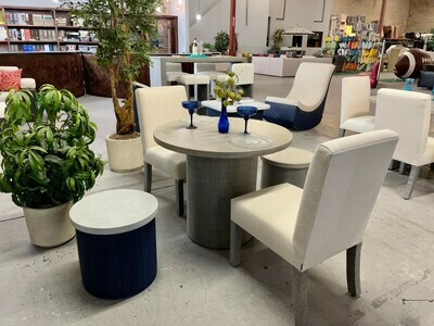 Resort Style Concrete Dining for 2 Set-Samples