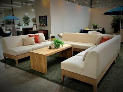 Modern Minimalist Sectional Seating Set-Samples