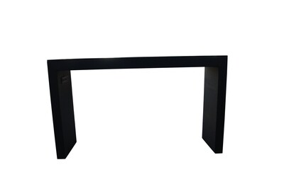 Black 6' Charging Pedestal Table