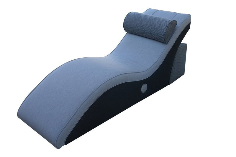 Charging Lounger With Table