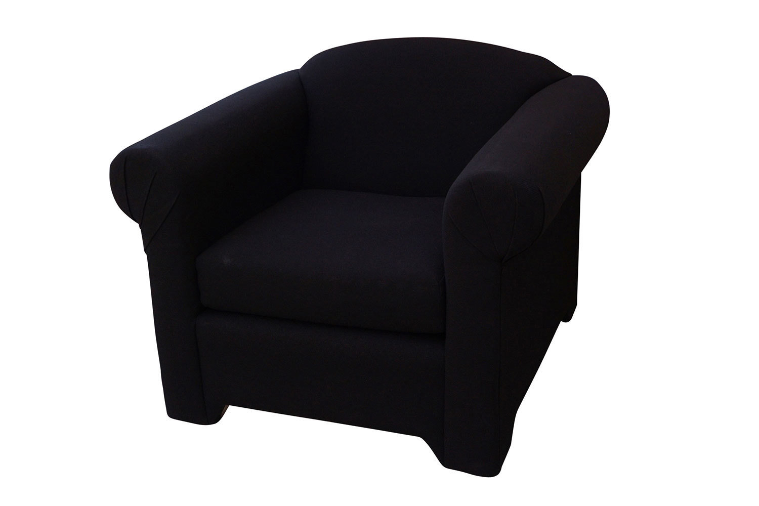 Black Fabric Chair