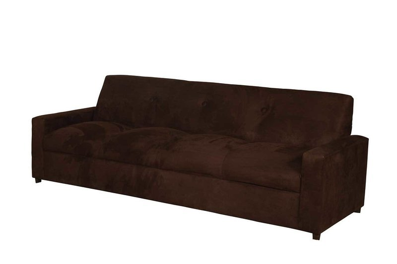 Chocolate Suede 4 Seater