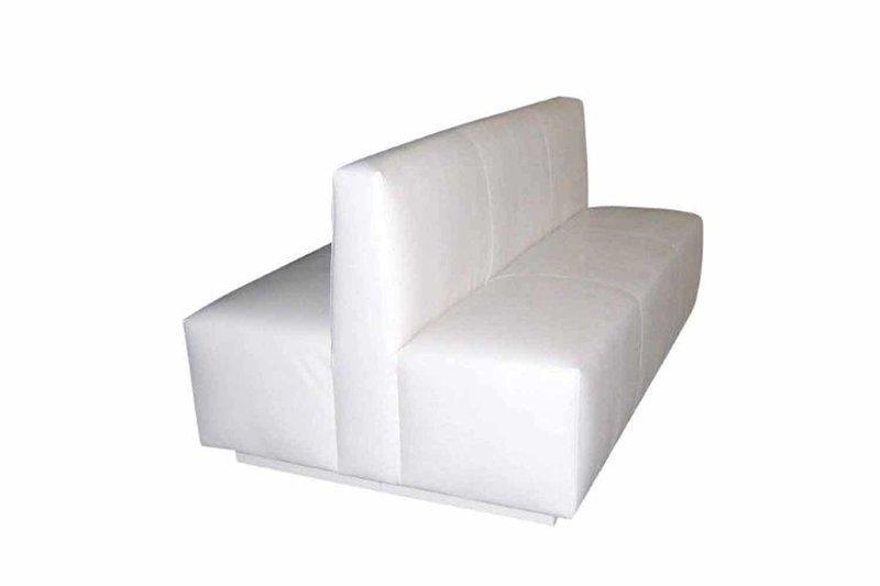 White Double Sofa
