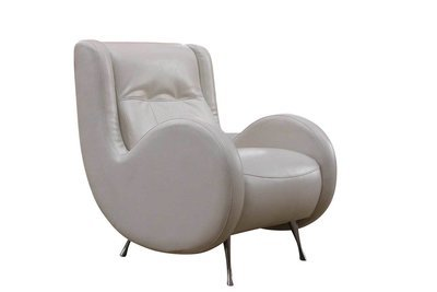 White Tufted Side Chair
