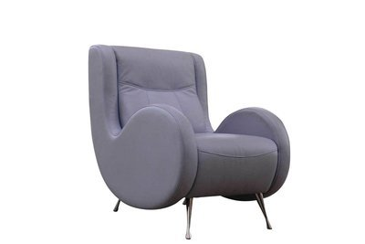 Lilac Tufted Side Chair