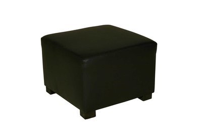 Black Cube Ottoman