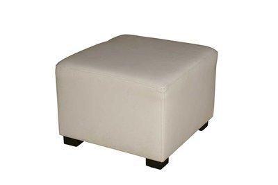 White Cube Ottoman