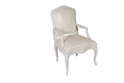 White Louie Chair