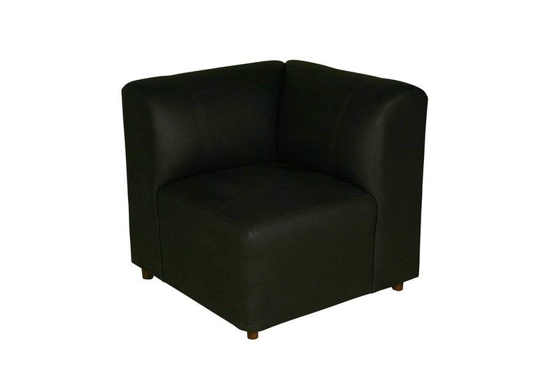 Black Corner Chair