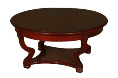 Cherry Round Coffee Table