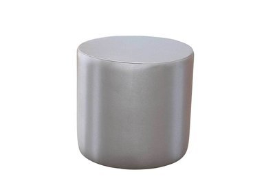 20x20 Silver Round Pedestal or Accent Table