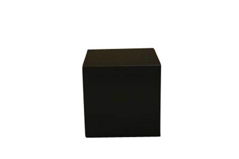 24x24x24 Black Cube Pedestal