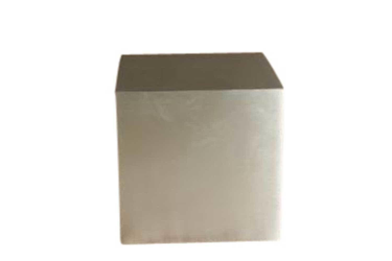 Silver 24x24 Cube Pedestal