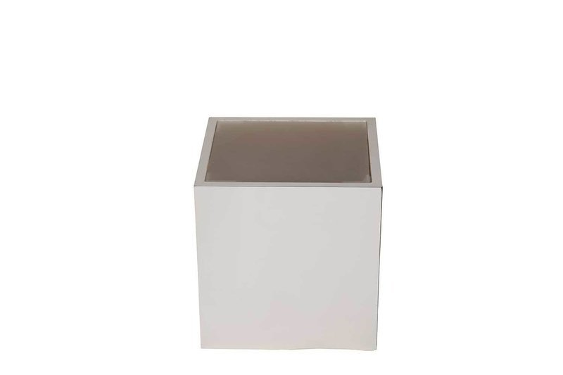 16x16x18 White Lighted Cube