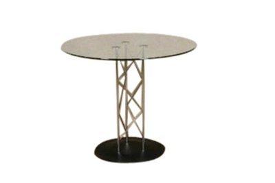 Chrome Glass Table