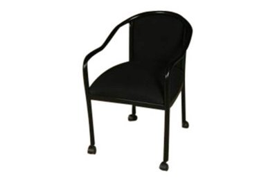 Ebony Castor Chair