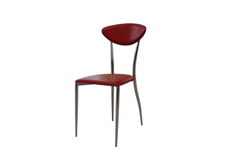 Red Chrome Chair