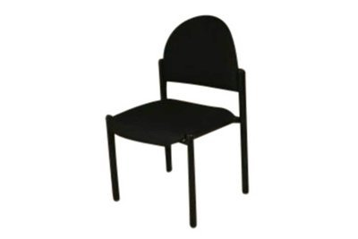 Black Stack Chair
