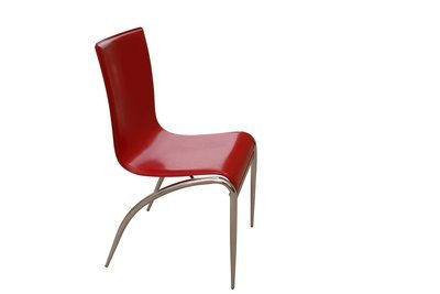 Chrome Red Chair