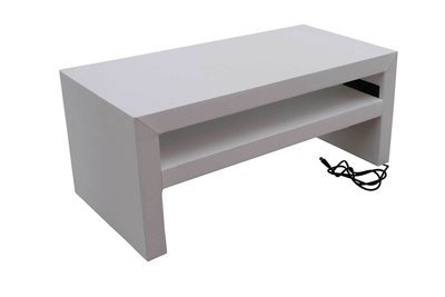 White Charging Cocktail Table