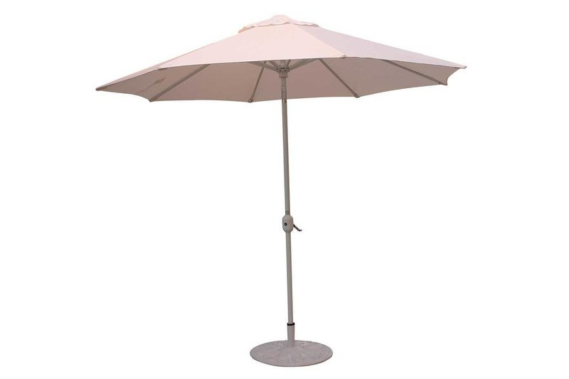White Umbrella with Base