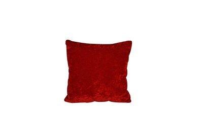 Pillow-Red Velvet Crushed