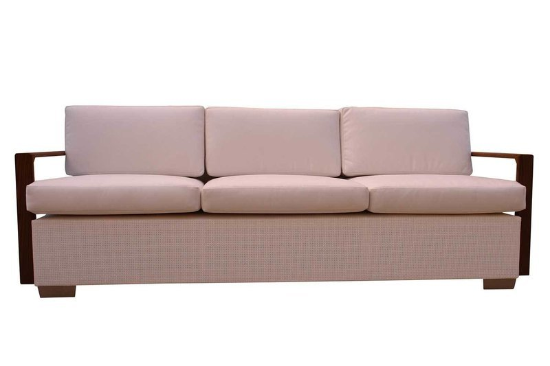 Sofa with Thermory Ash