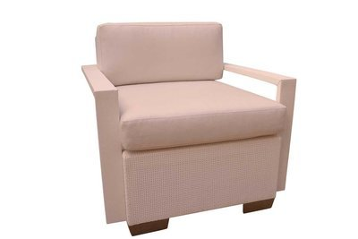 Chair with White Arms