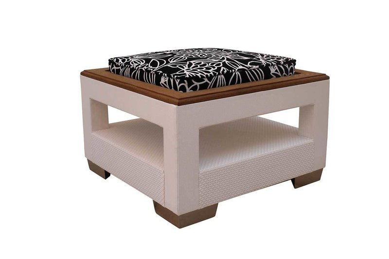 Thermory Ash Table with Cushion
