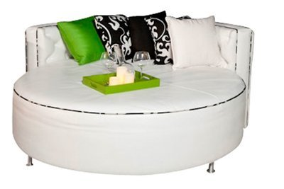 Daybed With Tufted Headboard