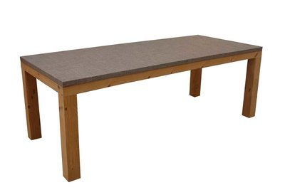Dining Table With Thermory Pine Trim