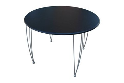 Black 42 Inch Table