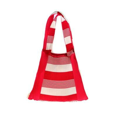 Pleat Bag Red