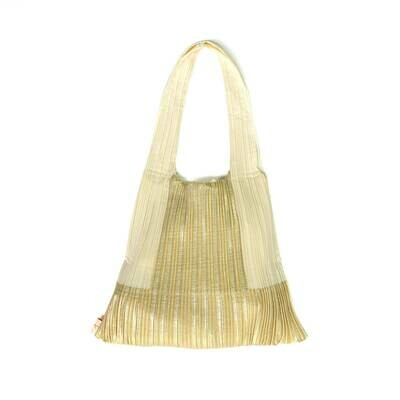 Pleat Bag gold
